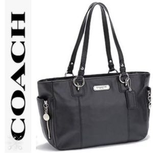 Coach Large Leather Gallery Tote/Shoulder Bag NEW